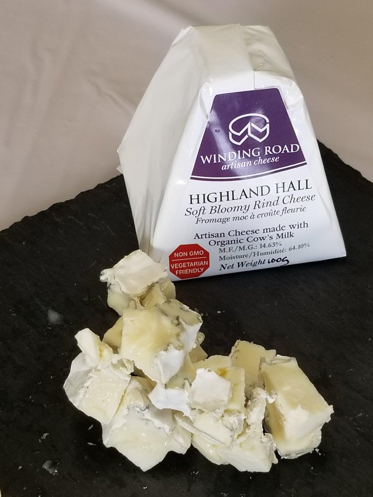 Winding Road Artisan Cheese  Highland Hall variety