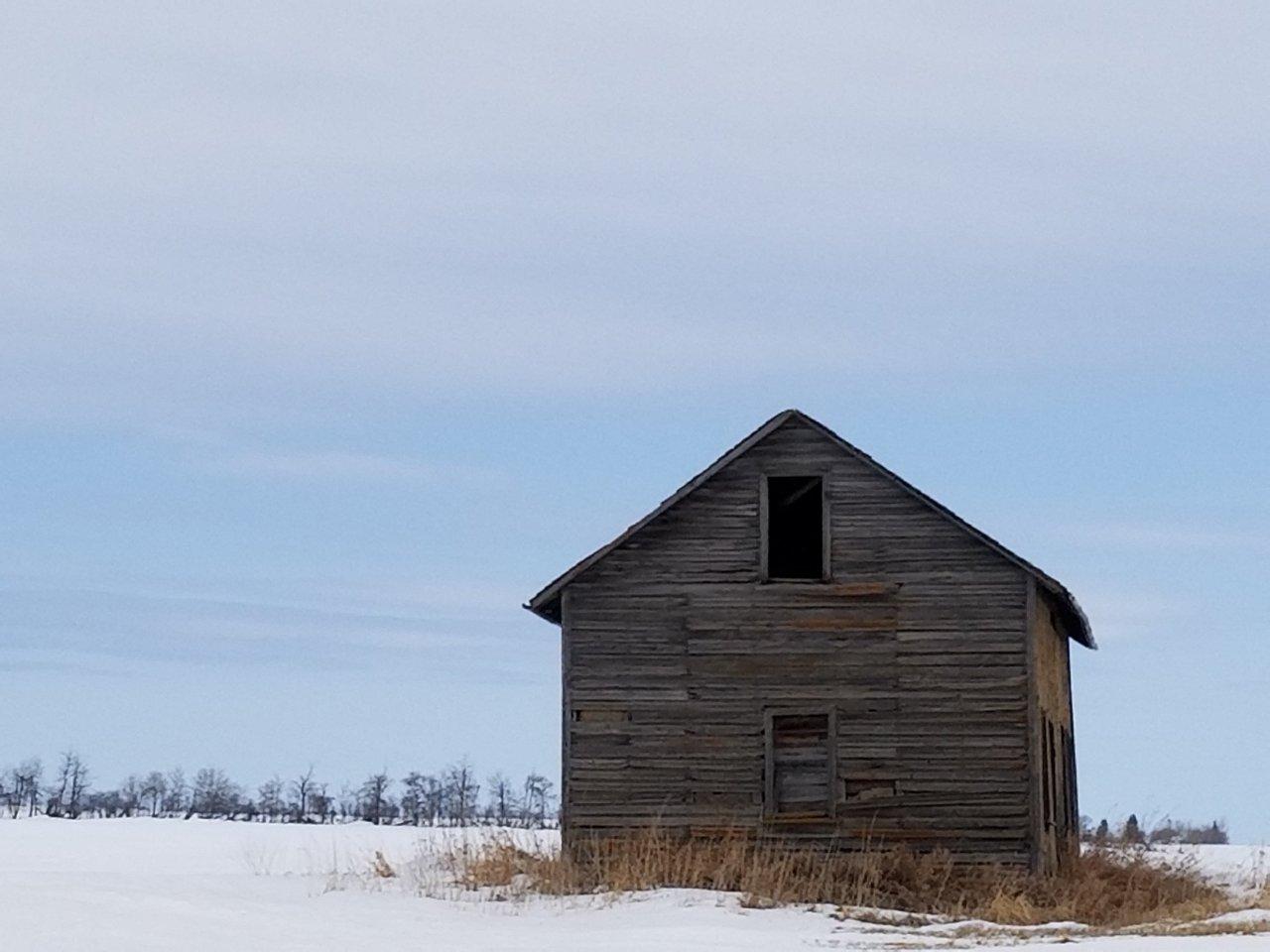 Alberta vintage farm building