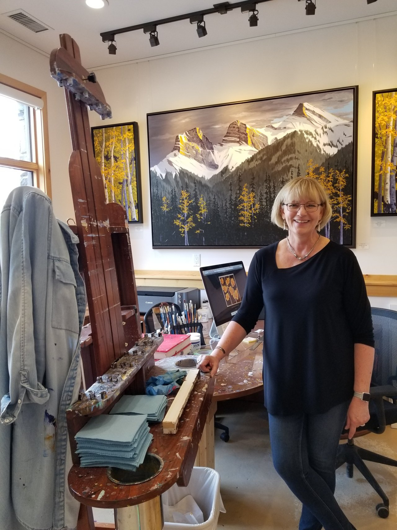 Pat Sullivan; Studio 604 in Canmore