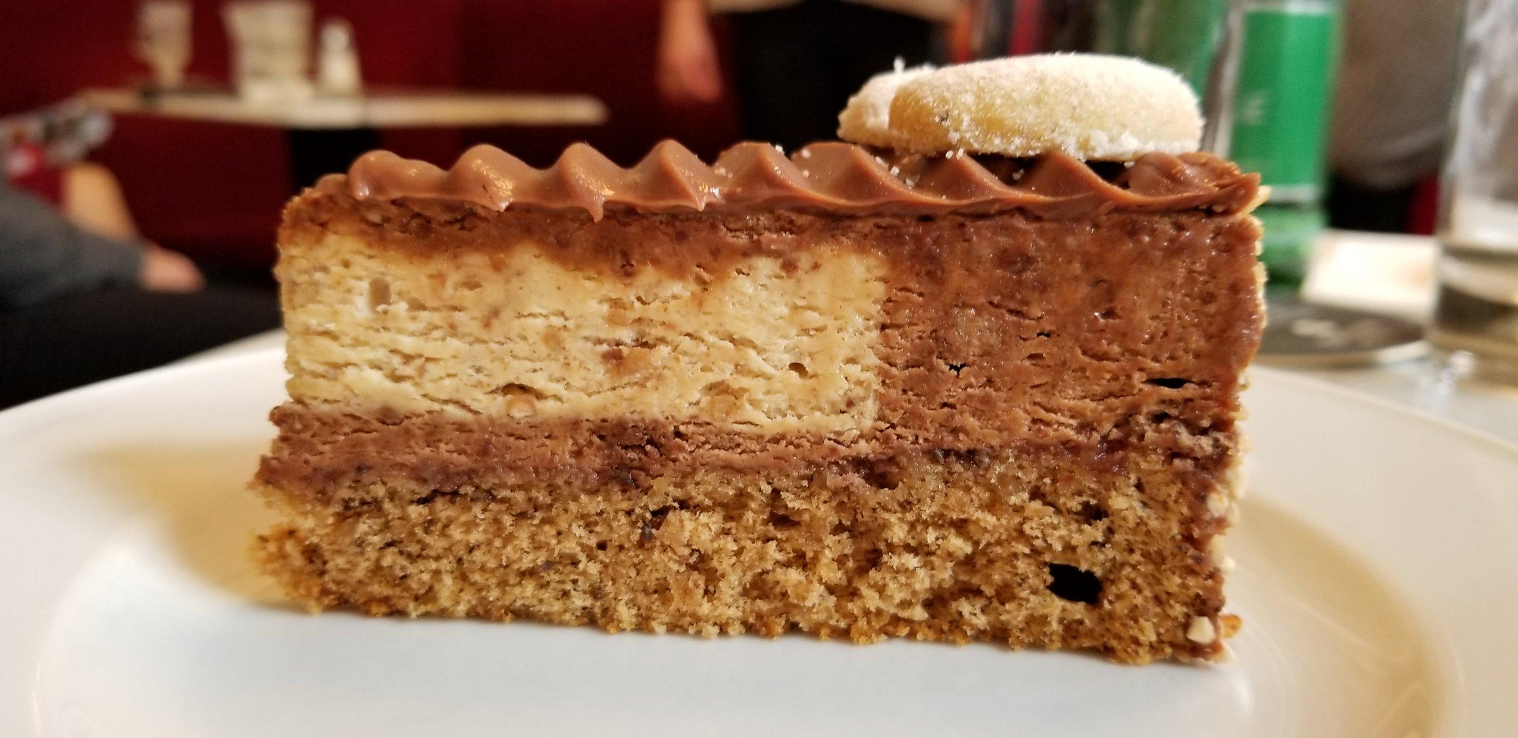 Lebkuchen torte Cafe Klimt